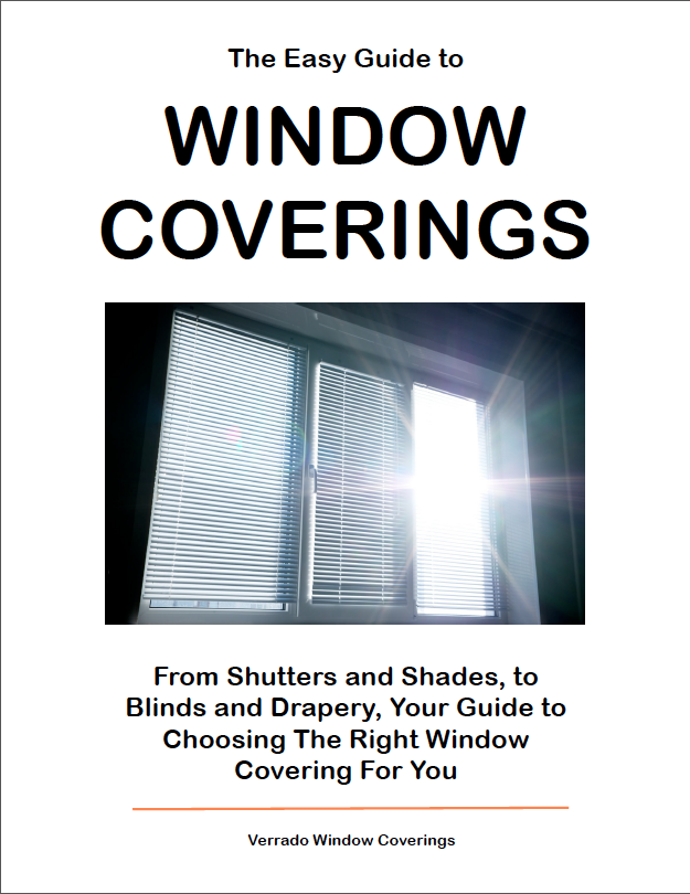 The EZ Guide to Window Coverings