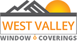 West Valley Window Coverings Sticky Logo